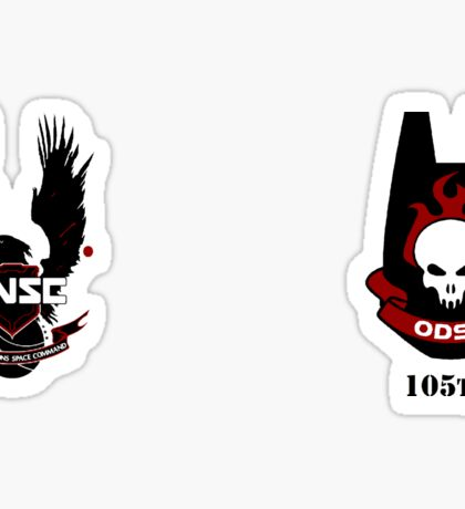 ODST - UNSC Shock Troopers Sticker