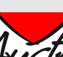 Austria Love Heart Sticker