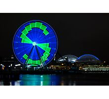 The Seattle Great Wheel (1) Photographic Print