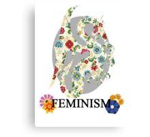 Feminist Dragon Canvas Print