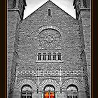 Basilica of St. Adalbert's - 1 Copper Door by Deb  Badt-Covell