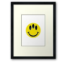 Evolution logo  Framed Print