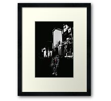 Dark Joker Framed Print