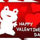 Valentine's Day Frog by jkartlife