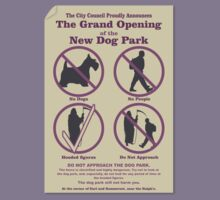 Grand Opening of Night Vales Dog Park by Reptar22