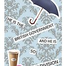 """He Is The British Government And He Is So My Division"" BBC Sherlock Mystrade by scarletprophesy"