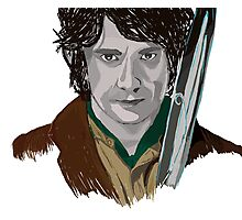 Bilbo of the Shire Photographic Print