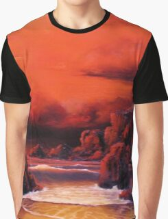 RED SKY SUNSET Graphic T-Shirt
