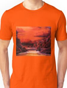 RED SKY SUNSET Unisex T-Shirt