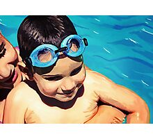 Water Baby Photographic Print