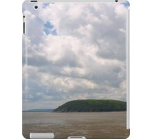 Bright view of Llansteffan, Wales iPad Case/Skin