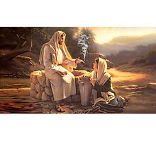 Jesus and the Woman at the Well Photographic Print