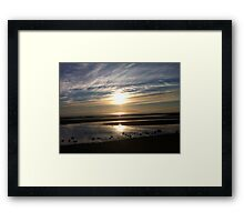 Sandgate in the morning Framed Print