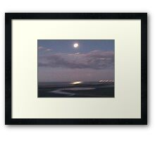 Sandgate on Dusk Framed Print