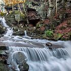 Bentley Brook Falls by mhfore