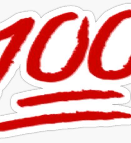 100 emoji  Sticker