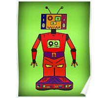Robot Mix Tape Poster