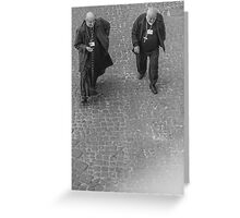 Two Vatican clergy Greeting Card