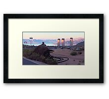 Lake View Drive Framed Print