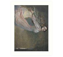 Falling Angel Art Print