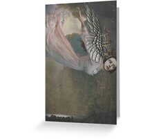 Falling Angel Greeting Card