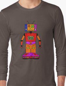 Robot Mix Tape Long Sleeve T-Shirt