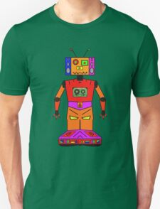 Robot Mix Tape Unisex T-Shirt