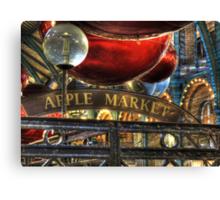 Apple Market Horizontal Canvas Print