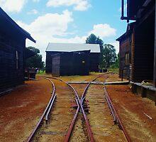 Tracks at Yarloop by lezvee