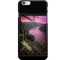 Phone case: Canoeing in the Ardeche iPhone Case/Skin