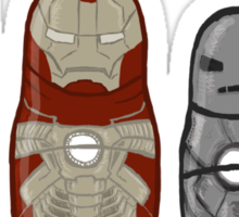 Iron Man matryoshka dolls  Sticker