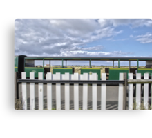 Dungeness Train Canvas Print
