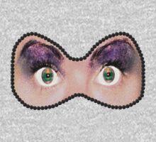 Eye Mask One Piece - Long Sleeve