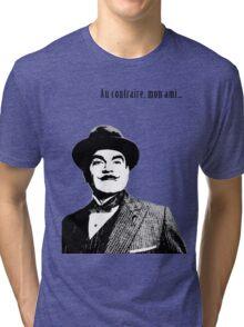 Hercule Poirot Tri-blend T-Shirt