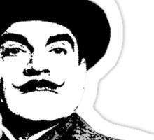 Hercule Poirot Sticker