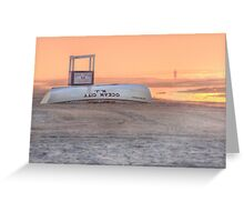 Ocean City Beach Patrol Greeting Card