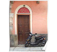 Italian Doorway Poster