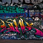 Southbank Skate Park Graffiti v2, London by JMChown