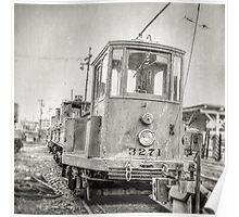 Vintage Streetcar Trolley 10165 Poster