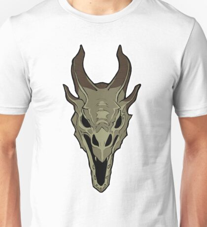 Dragon Skull Unisex T-Shirt