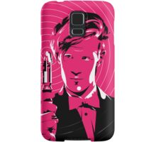 The Eleventh Doctor (Pink) Samsung Galaxy Case/Skin