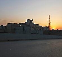 Peshawar sunset by heinrich