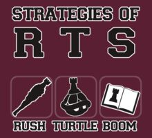 Rush Turtle Boom by B-Shirts