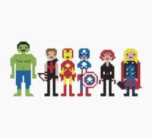 Pixels Assemble by Untitledemz