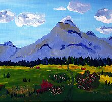 Say to that Mountain by Anne Gitto