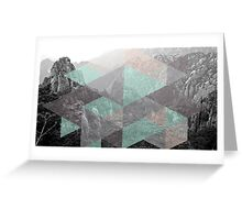 Geo Landscape Greeting Card