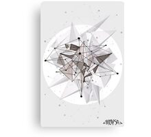 The Abstract Paradox Canvas Print