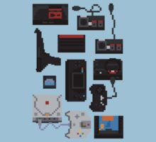 Pixel History - Sega by The World Of Pootermobile