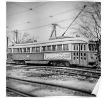 Vintage Streetcar Trolley 2364 Poster