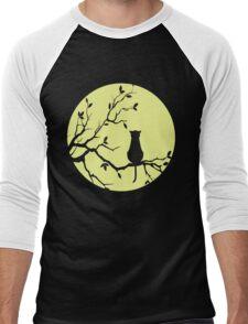 The Cat And The Moon (v2) Men's Baseball ¾ T-Shirt